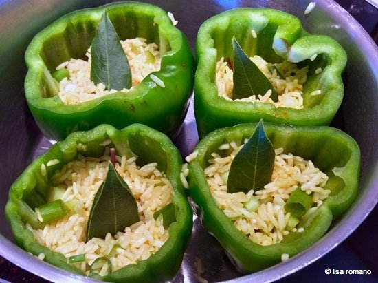 Baked Stuffed Capsicums