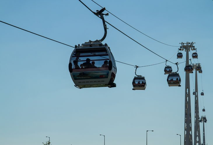 Cable Cars over the Thames  Intoxicated By London With Marianne Knight