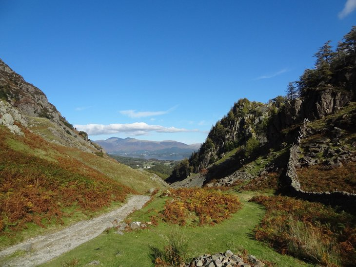 Castle Crag – Bounding Up To Borrowdale Beauty