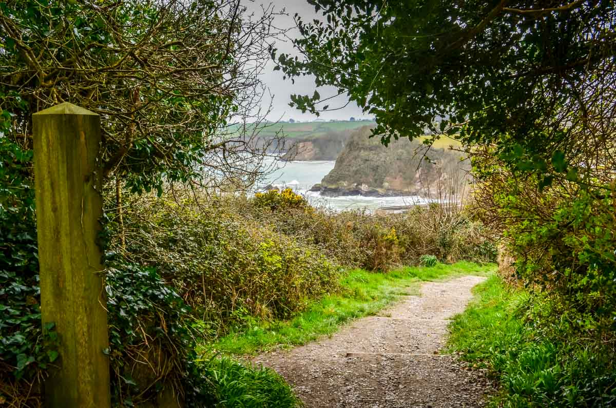 Charlestown-nearly-in-view Cornwall – Walking the Coastal Path to Charlestown