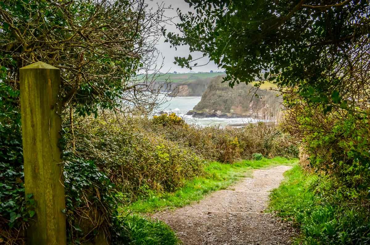 Cornwall – Walking the Coastal Path to Charlestown