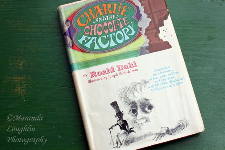 Charlie and the Chocolate Factory by Roald Dahl 5283 The Chocolate Waterfall   A Delectable Cocktail
