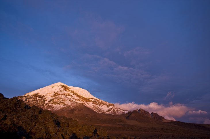 The Highest Point on Earth - Mount Chimborazo