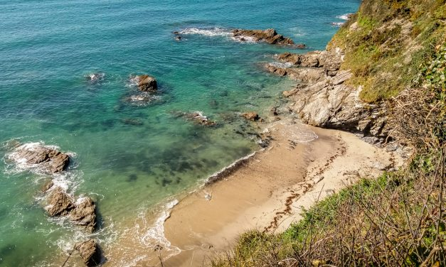 Cornish Coastal Walk – Carlyon Bay to Par via Cliffs, Beaches & Coves