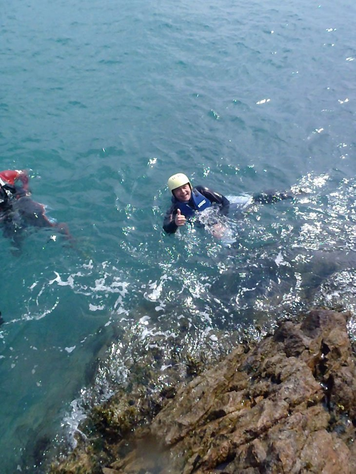 Guernsey - Coasteering, Green Lanes and Goodbyes