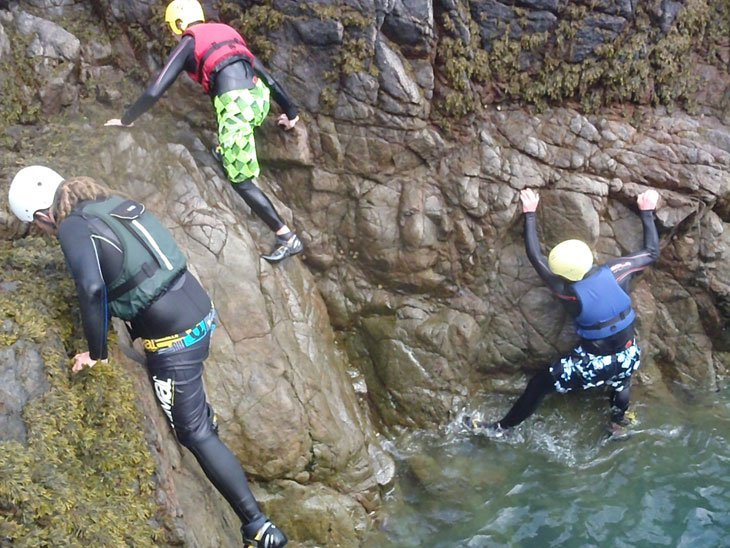 Guernsey Day 5 – Coasteering, Green Lanes and Goodbyes