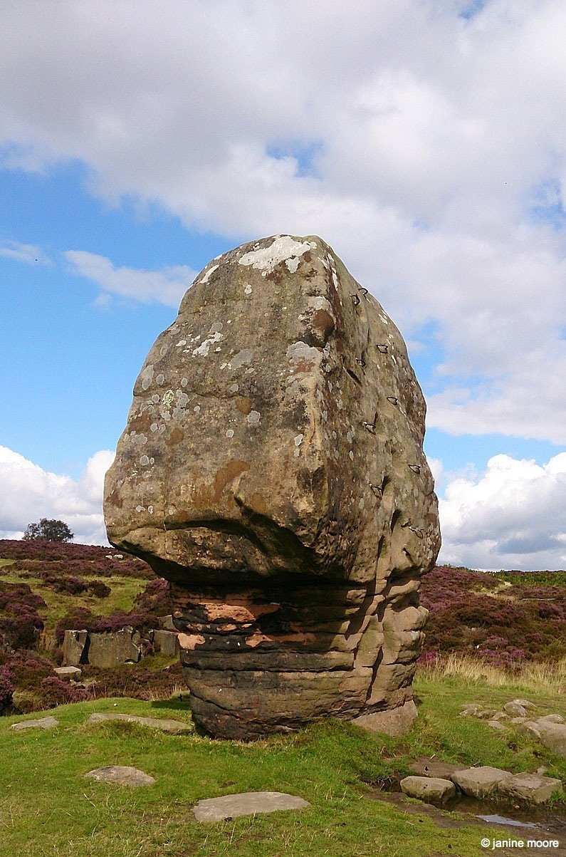 Corkscrew Stanton Moor and the Nine Ladies in the Derbyshire Dales