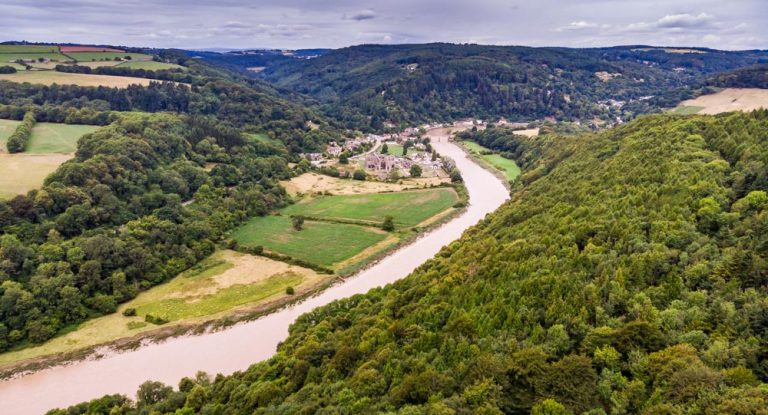A Walk To Devil's Pulpit, Overlooking Tintern Abbey