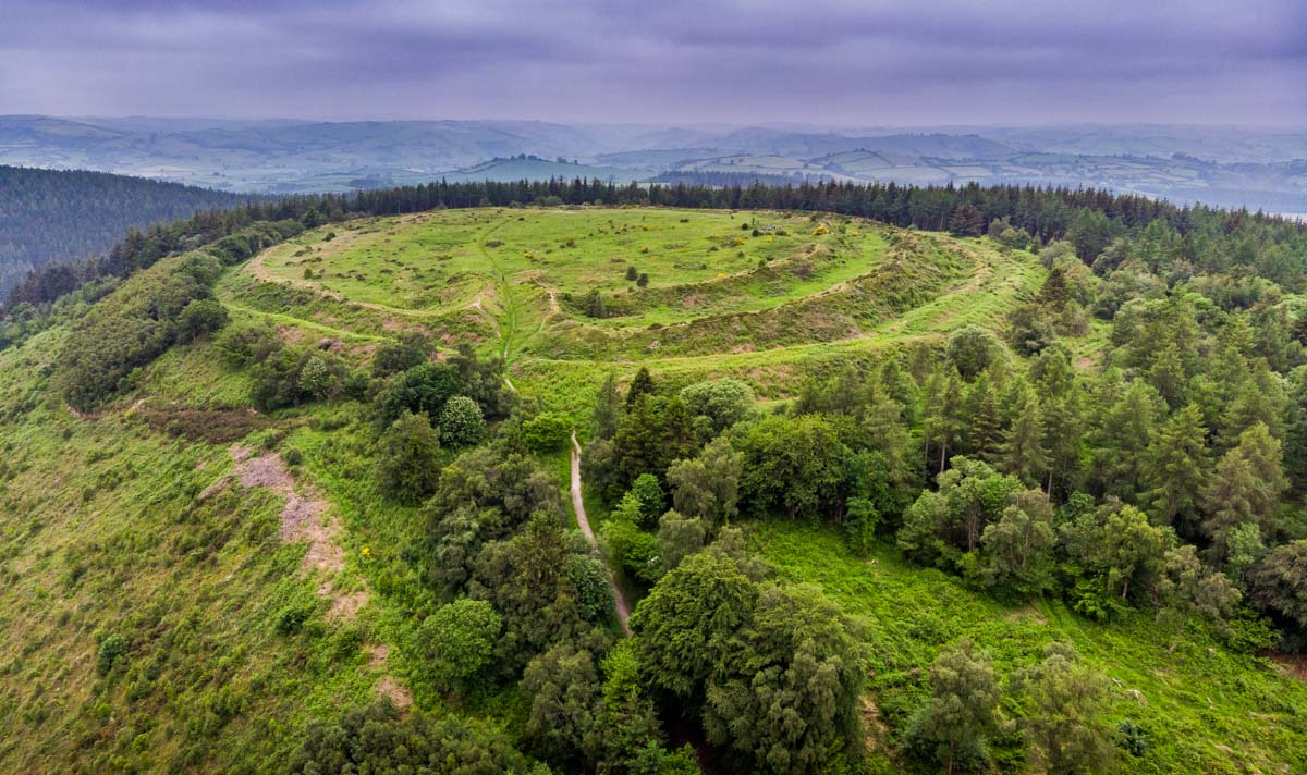 Iron Age Hill Fort called Bury Ditches