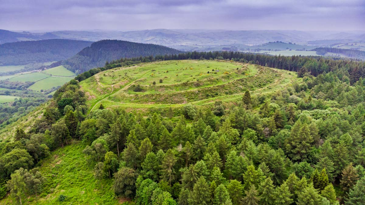 bury ditches iron age fort