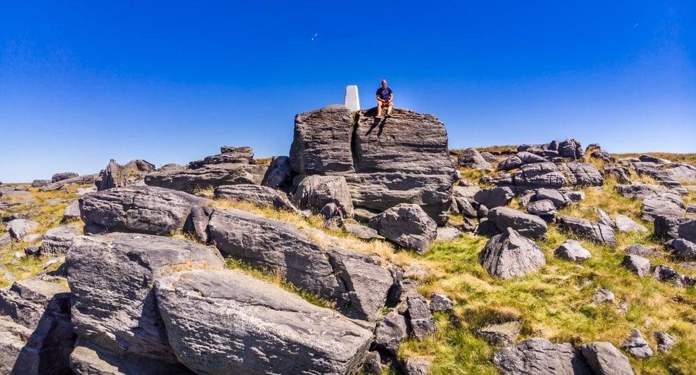 A Walk Over Blackstone Edge and Views Beyond Rochdale 1