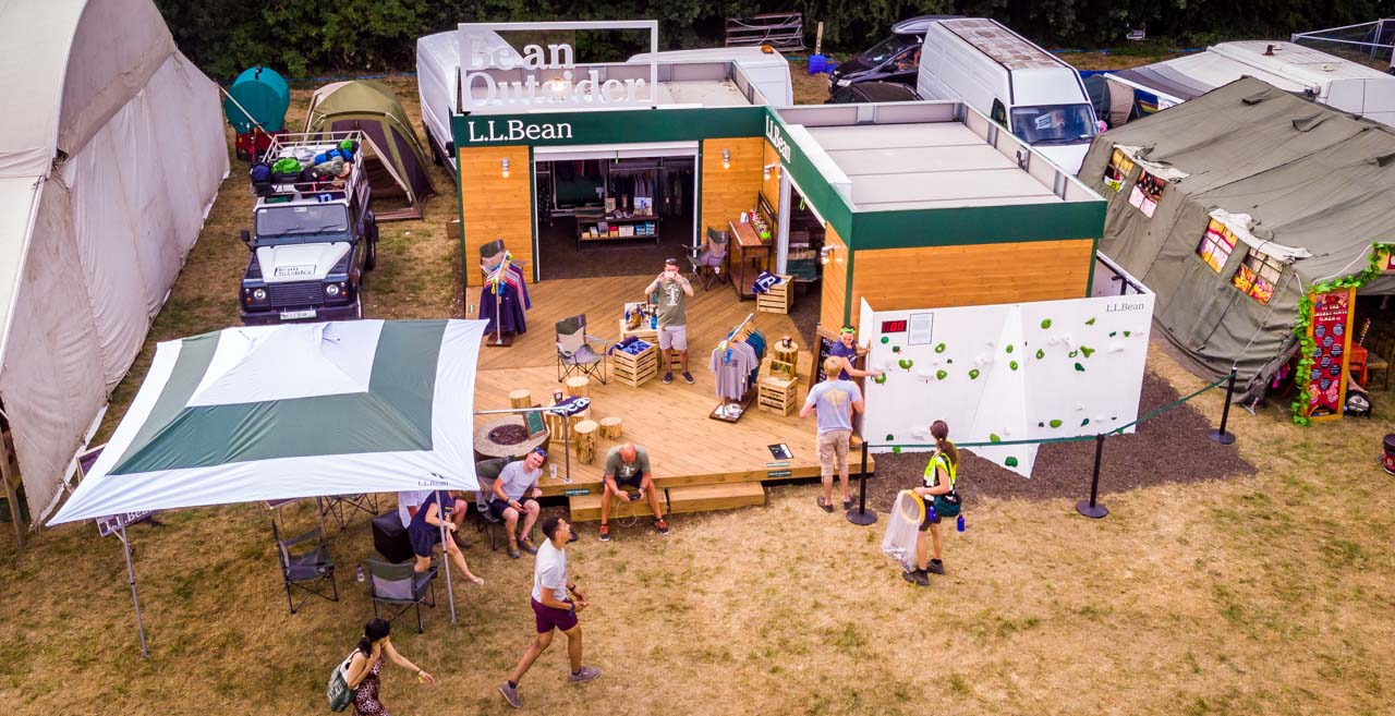 Popping Up At The Timber Festival with LL Bean