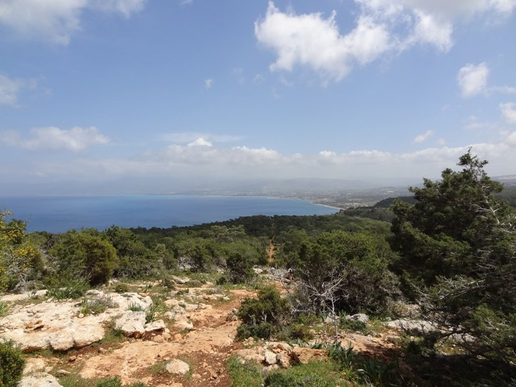 aphrodite nature trail views