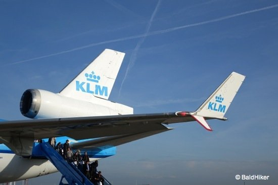 A farewell day for the KLM MD-11