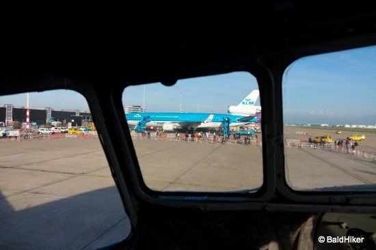 pilots view in DC 3