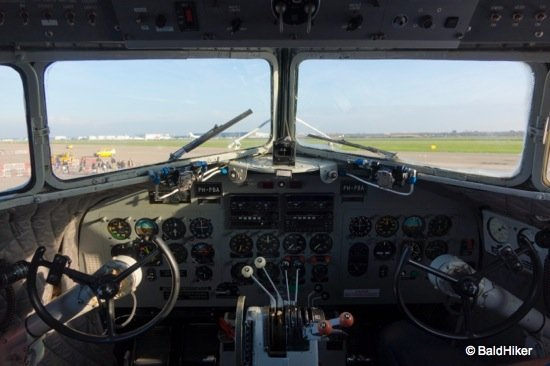 cockpit of DC3