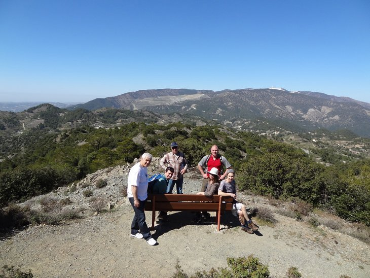 Hiking High In The Troodos Mountains of Cyprus
