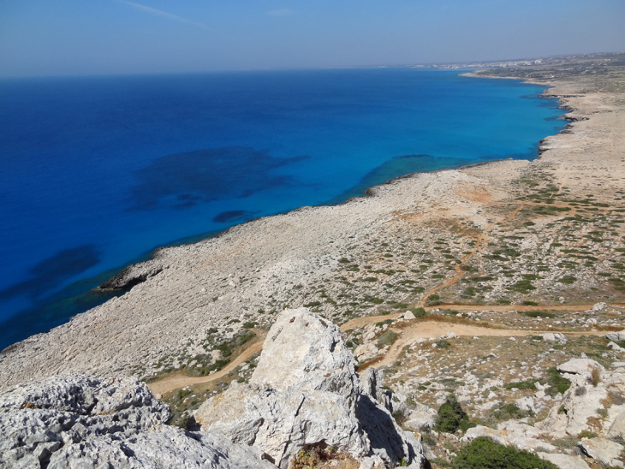Sapphire Seas of Cyprus – Strolling The Coast of Ayia Napa