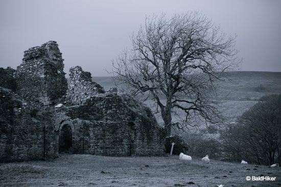 DSC00484 Pendragon Castle – Romantic ruin of Mallerstang