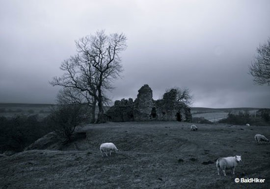 Pendragon Castle – Romantic ruin of Mallerstang