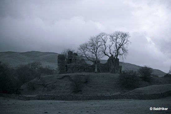 DSC00502 Pendragon Castle – Romantic ruin of Mallerstang