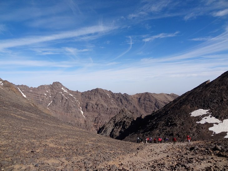DSC00560 Trekking To The Top Of North Africa   Mt Toubkal