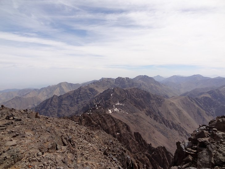 DSC005701 Trekking To The Top Of North Africa   Mt Toubkal