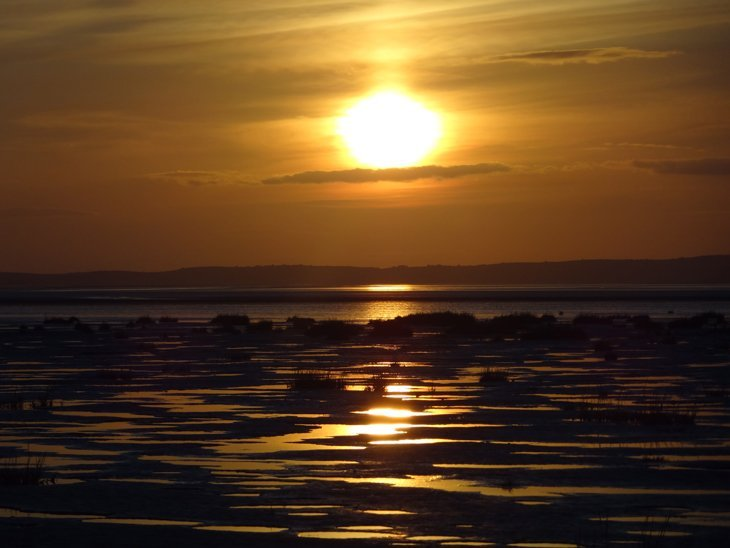 DSC01608 Morecambe Bay – Shades Of The Setting Sun