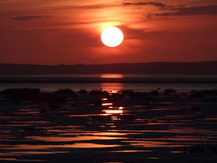 Morecambe Bay – Shades Of The Setting Sun