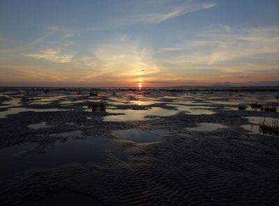 Morecambe Bay – Shades Of The Setting Sun