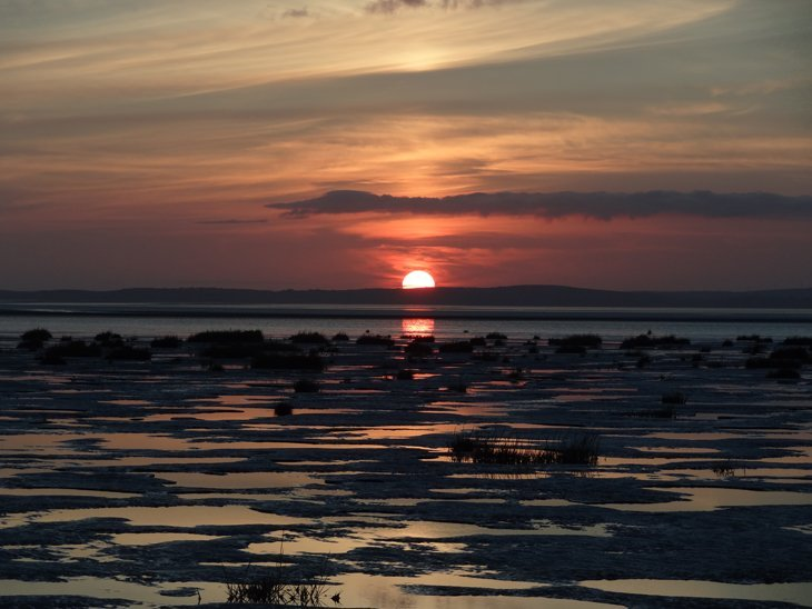 DSC01632 Morecambe Bay – Shades Of The Setting Sun