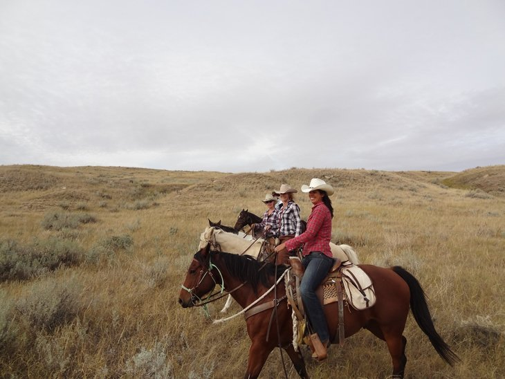 Canada - Riding Away From It All Over The Saskatchewan Prairie