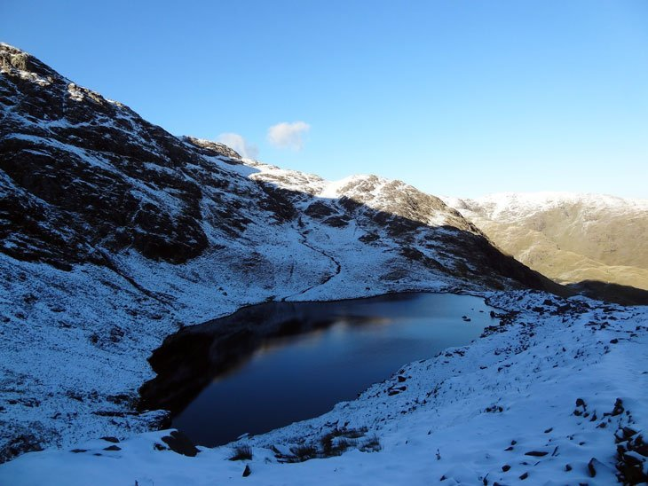 DSC02920 Winter Beauty Begins On The Old Man Of Coniston