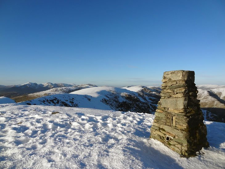 Winter Beauty Begins On The Old Man Of Coniston