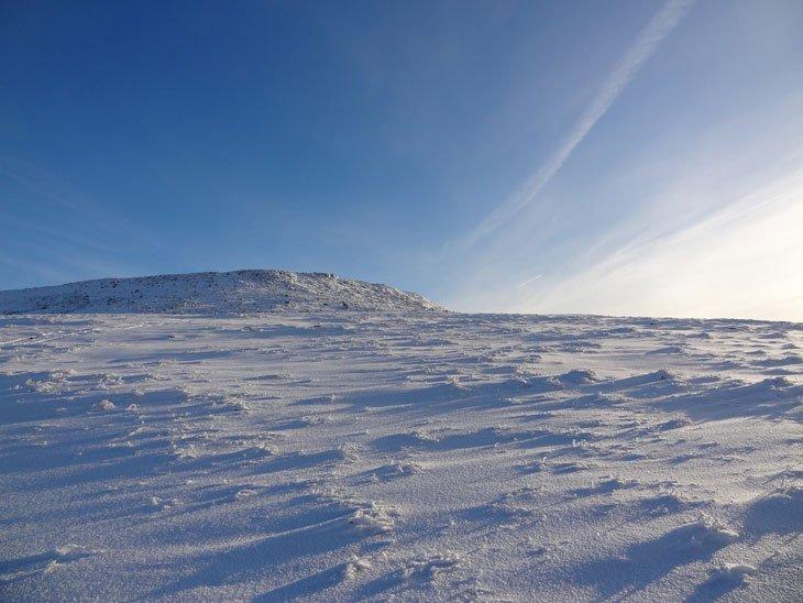 winter cross fell landscape