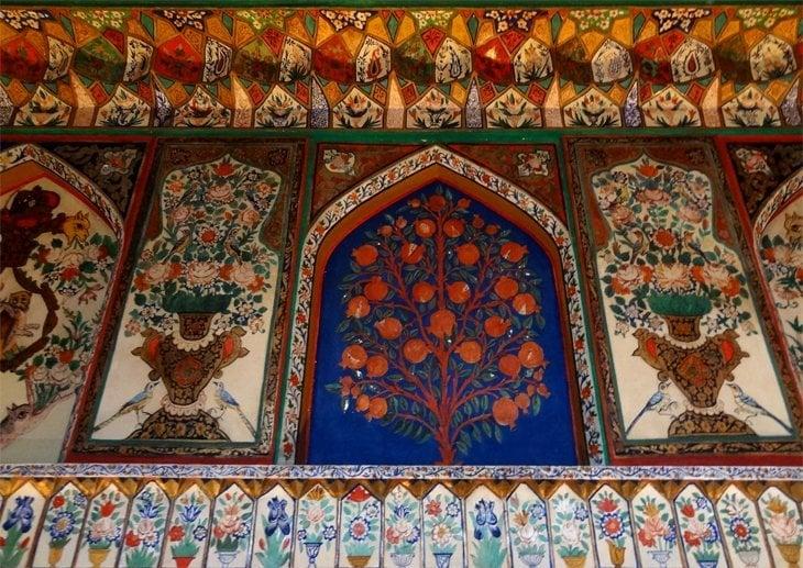 DSC03684 Azerbaijan   Sheki Kahns Palace