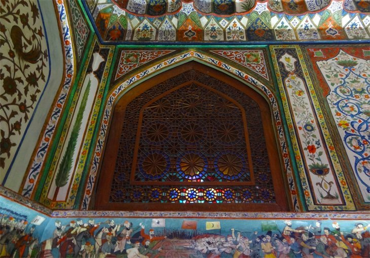 DSC03696 Azerbaijan   Sheki Kahns Palace