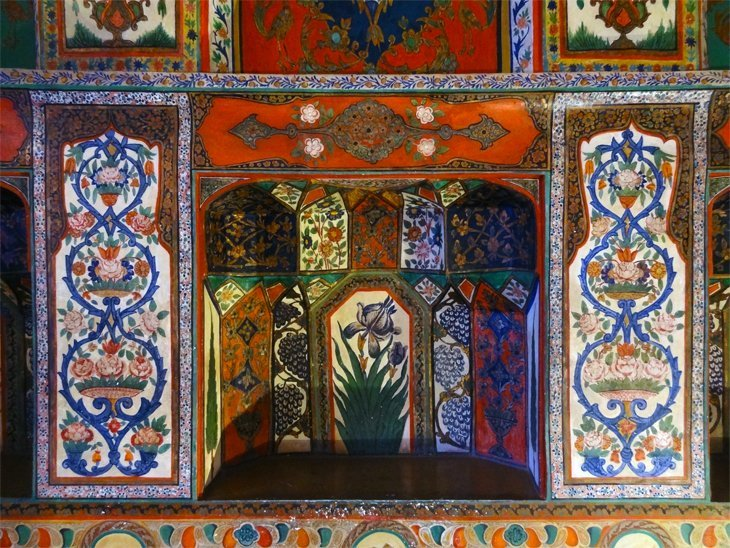 DSC03702 Azerbaijan   Sheki Kahns Palace