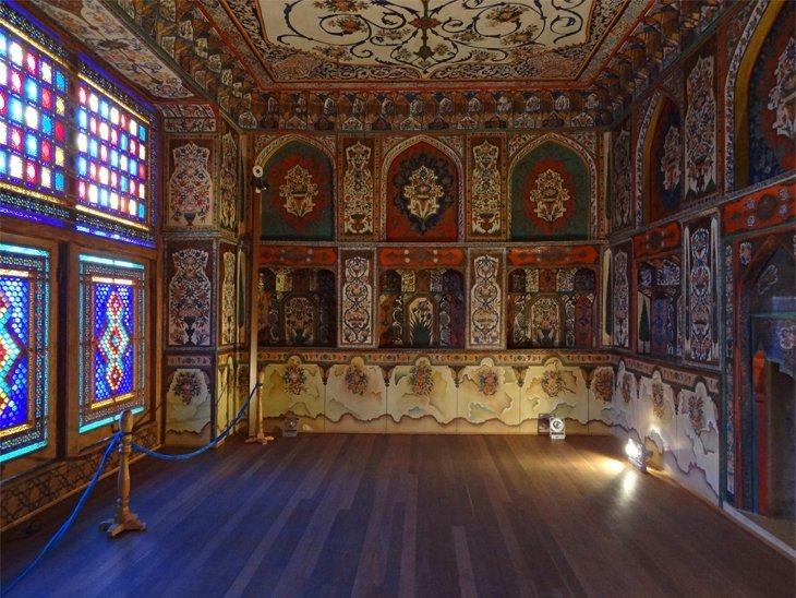 decoration Sheki Kahn's Palace