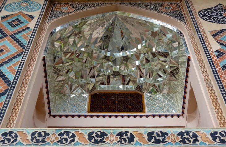 DSC03741 Azerbaijan   Sheki Kahns Palace