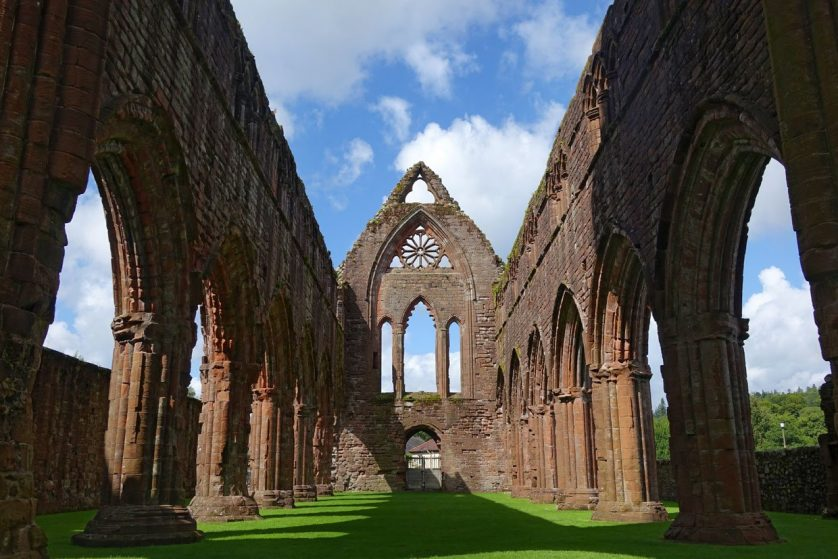 Sweetheart Abbey – Built in memory of true love