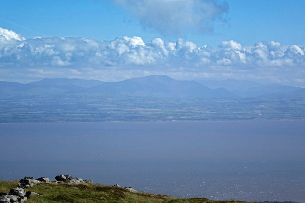 Climb Criffel to views over four lands