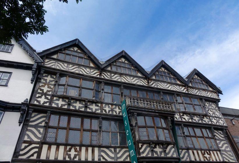 ancient high house in Stafford