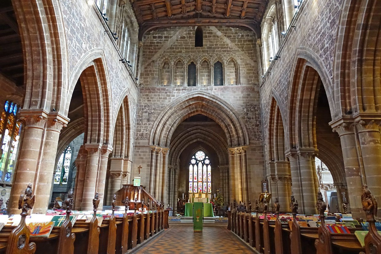 St Mary's Church Stafford – Historic inside and out