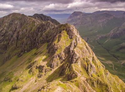 Walking Glen Coe - The Iconic Aonach Eagach Ridge