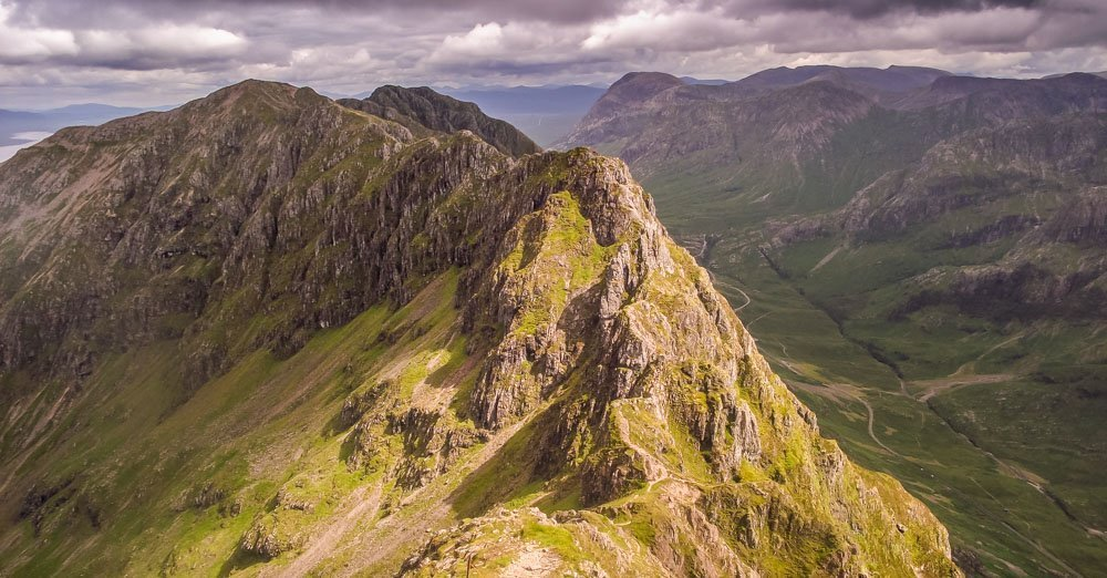Walking Glen Coe – The Iconic Aonach Eagach Ridge