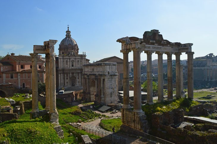 Rome – Marvelling At The Forum