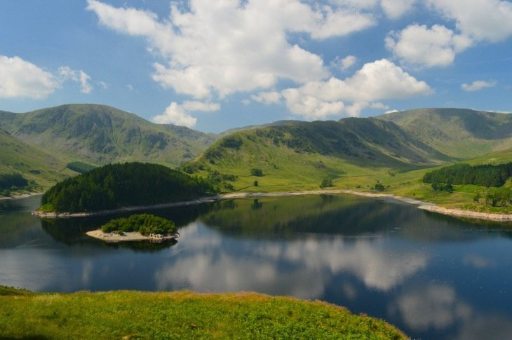 High Street from Haweswater via Riggindale Ridge