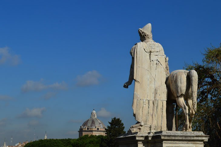 Rome - Statues Throughout The Streets