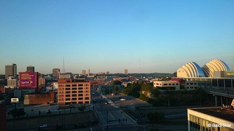 skyline of Kansas City, Missouri